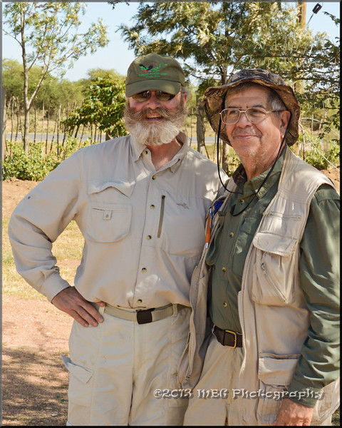 Tour Director Ken Conger and one of our best friends Jose!