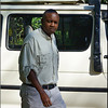 Our wonderful safari guide and friend Chris Kinoti! Always with the serious look!?