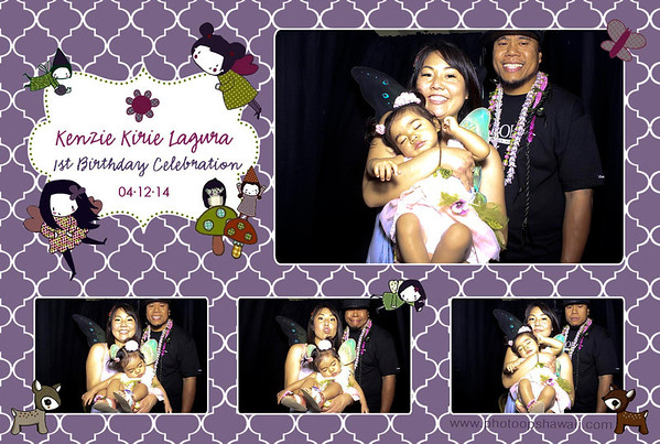 Kenzie's 1st Birthday (Stand Up Photo Booth)