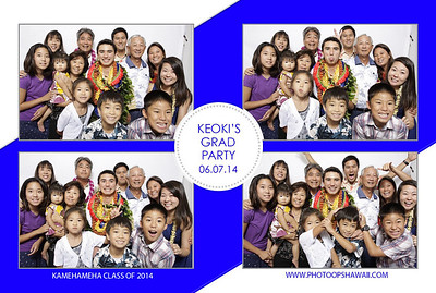 Keoki's Grad Party (Fusion Portraits)