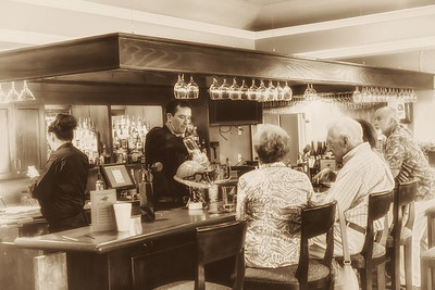 The Club Bar During Kentucky Derby Event
