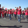 Kerman High School Marching Band at the 2011 Kerman Harvest Festival Parade.