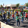 Kerman Middle School Marching Band, 2011 Harvest Festival Parade.
