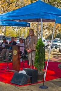 Deborah Turner President of Rotary Club of Frazier Mountain Communities.