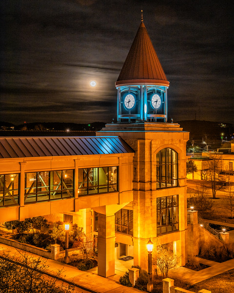 City Hall Clock Tower - Kerrville, Kerr County, TX