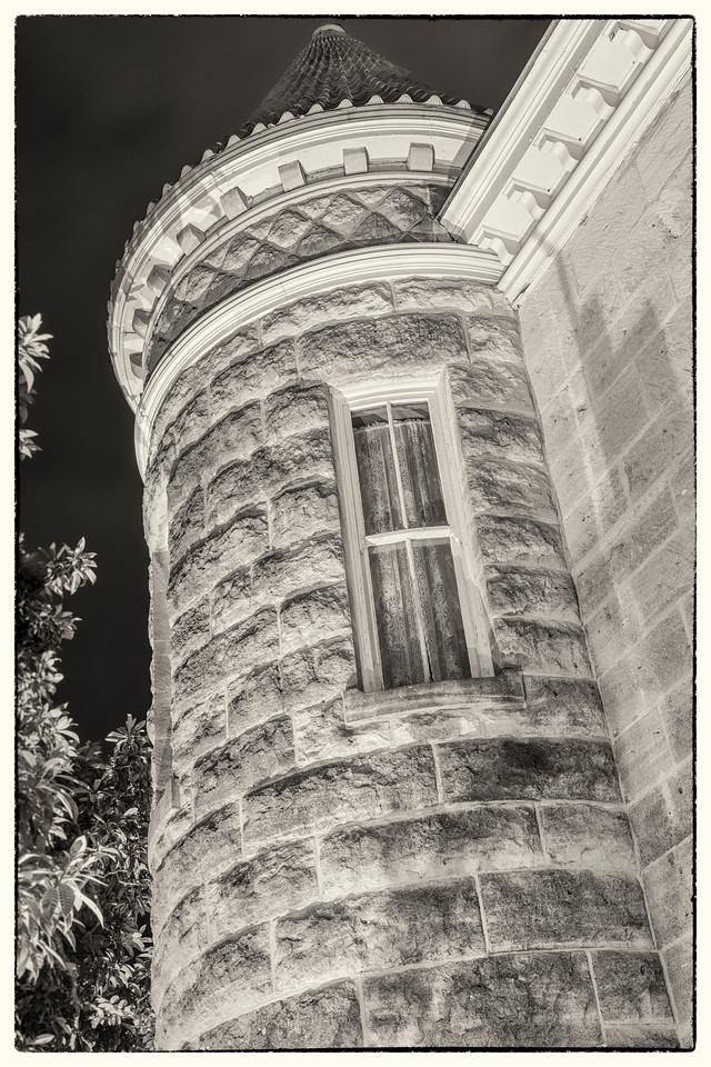 The North Tower - Schreiner Mansion Series No. 1