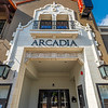 Entrance - Arcadia Theater, Kerrville, TX