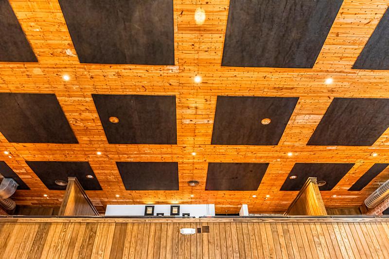 Ceiling Detail Mezzanine)  - Arcadia Theater, Kerrville, TX