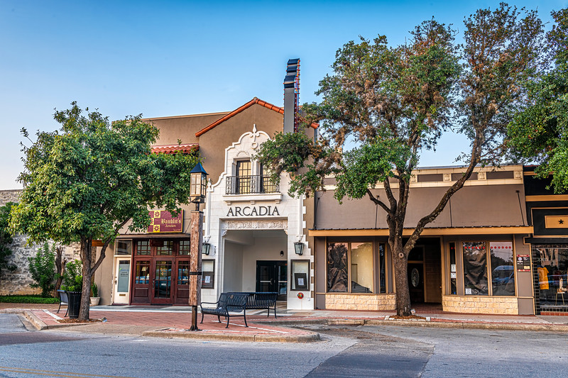Street View of Entrance  - Arcadia Theater, Kerrville, TX