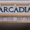 Pediment Entrance (Detail) - Arcadia Theater, Kerrville, TX
