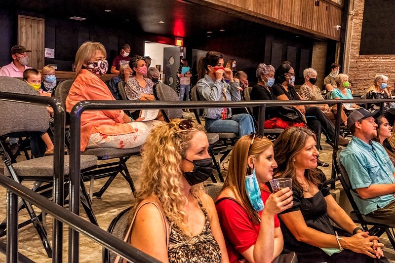The Audience - Big Seed Concert, Arcadia Theater, Kerrville, TX