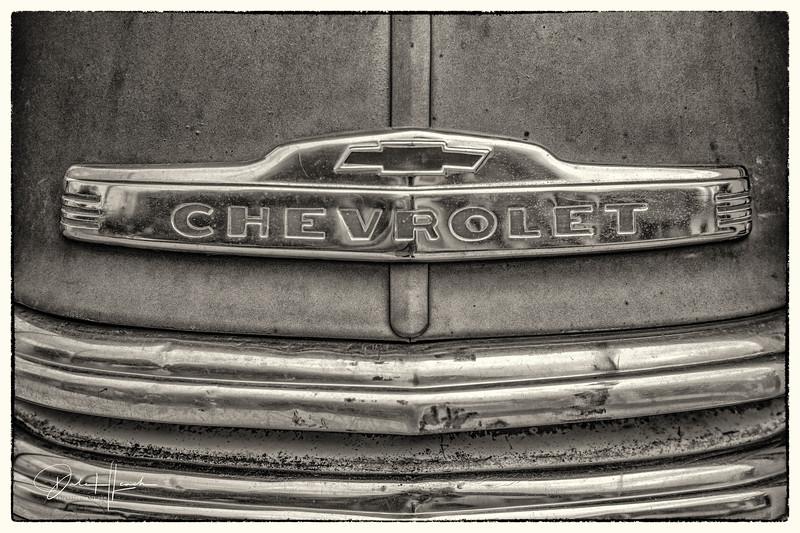 1952 Chevy Pickup Hood Orniment