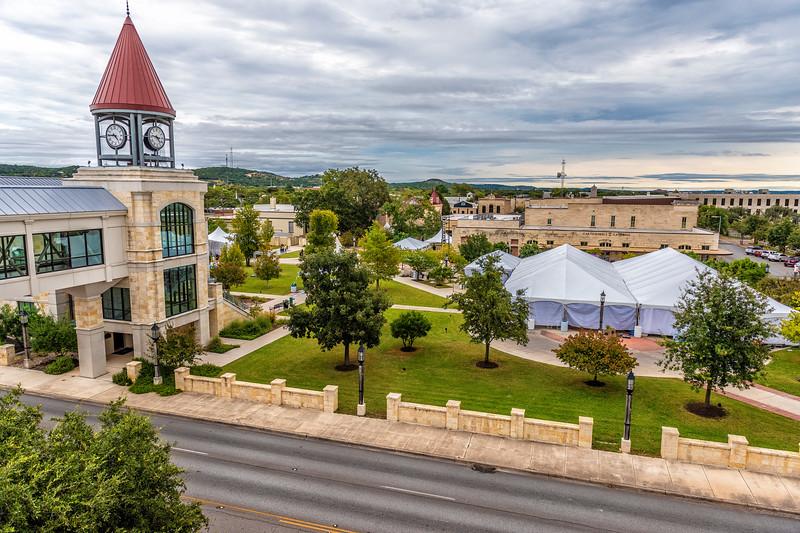 2019 Kerrville Chalk Festival, Kerrville, Kerr Co, TX