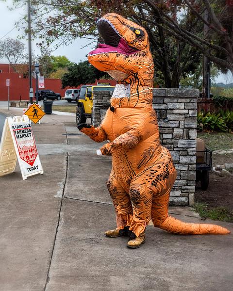 'T-Rex in Combat Boots'