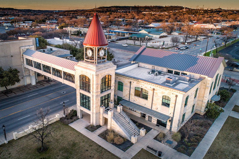 Kerrville City Hall & Clock Tower