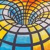 Tivy HS Art Dept Wall Mural, Pop Hair Art, Clay St, Kerrville, TX