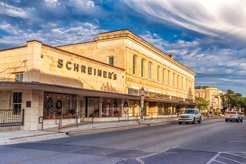 The Scheiner Goods Store from Water St - Kerrville, TX
