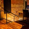 Upper Floor Stair (Detail) - Arcadia Theater, Kerrville, TX