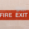 Exterior Exit Signage  - Arcadia Theater, Kerrville, TX