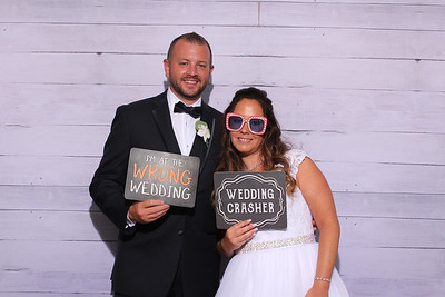 Kerry and Daniel's Wedding Reception Photo Booth