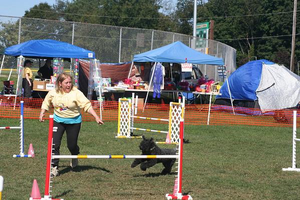 Kimberton agility Wednesday 2011