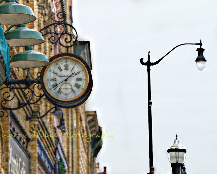 Clock, Main Street