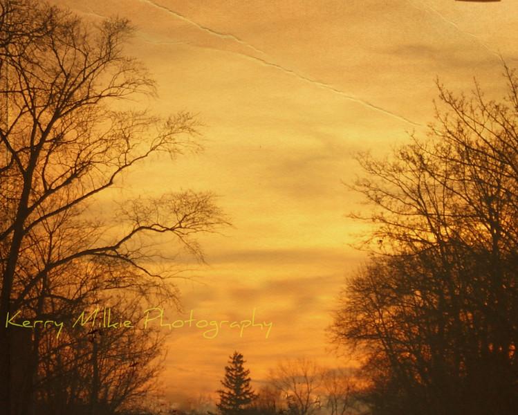 One sunrise