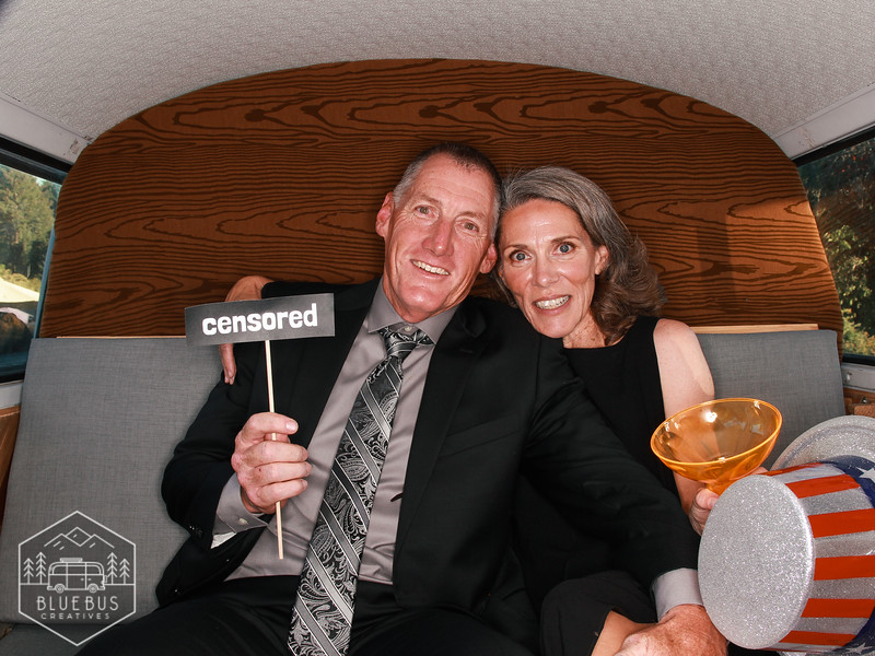 Snapping photos in the #PhotoSwagon at Kershia & Jason's wedding! Congrats to the newlyweds!<br /> <br /> Love this photo? Head to findmysnaps.com/Kershia-Jason to order large prints and more!<br /> <br /> The PhotoSwagon is a renovated 1973 VW Bus transformed into the coolest photo booth around! Thinking of booking an awesome photo booth for your next event? Head to bluebuscreatives.com for more info.