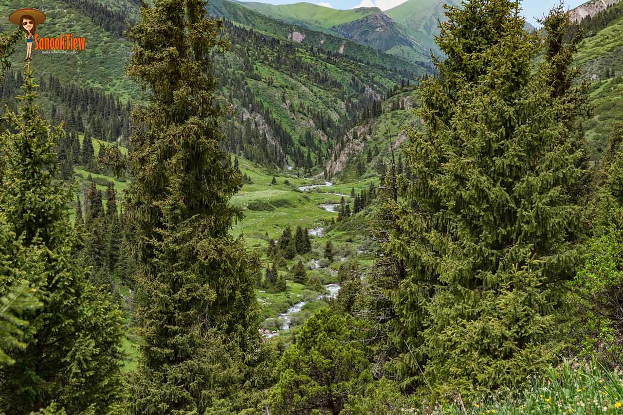 Keskenkija Loop Trek Krygyzstan คีร์กีซสถาน