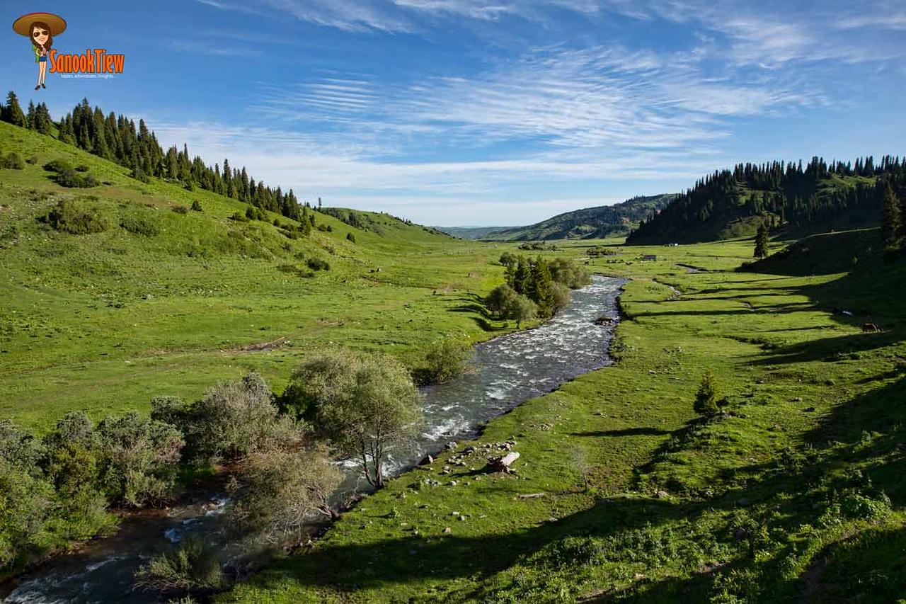 Keskenkyia Loop Trek Krygyzstan คีร์กีซสถาน Keskenkyia Pass & Anvar Pass