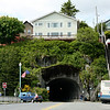 Tunnel in downtown Ketchikan