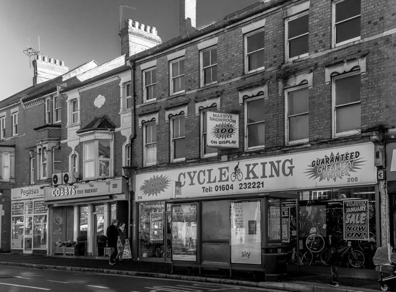 1887- Nineteenth Cenury Shops, Kettering Road, Northampton