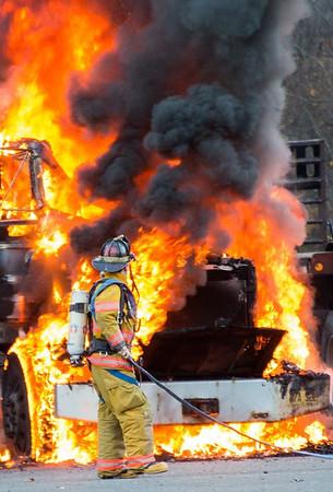 Truck Fire - Unknown Address, Watertown, CT - 11/05/16