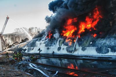 Building Fire - Unknown Address, Torrington, CT - 4/3/14