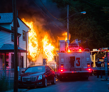 Well Involved Residential Structure Fire 35 Carmen St Waterbury,CT 06/15/17