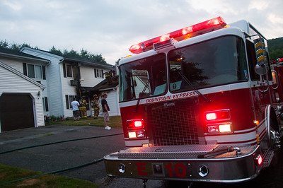 Structure Fire - 203 Branch Rd, Thomaston, CT - 7/13/14