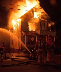Structure Fire - 223 Orange St, Waterbury, CT - 5/18/15
