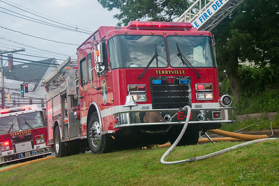 Structure Fire - 3 N Main St, Terryville, CT - 7/8/14