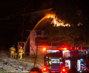 Structure Fire - Wykeham Rise School, Washington, CT - 1/22/17