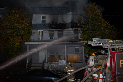 Vacant House Fire - 10 Vermont St, Waterbury, CT - 11/11/16