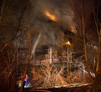 Vacant House Fire - 112 Cherry St, Waterbury, CT - 12/25/16