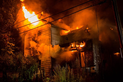 Vacant Structure Fire - West Grove St, Waterbury, CT -  8/30/16