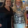 Dynamic divas, Evviva's COO Marcie Day and Nancy Cook, both of Westford