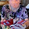 Mask anyone? Patti Mason of Westford had plenty to offer.