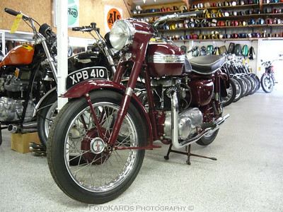 1955 Triumph ST Speed Twin 500