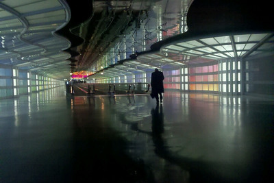 5/2/11 This photo was taken while stranded at Chicago O'hare airport overnight. It was taken with a Droid cell phone.