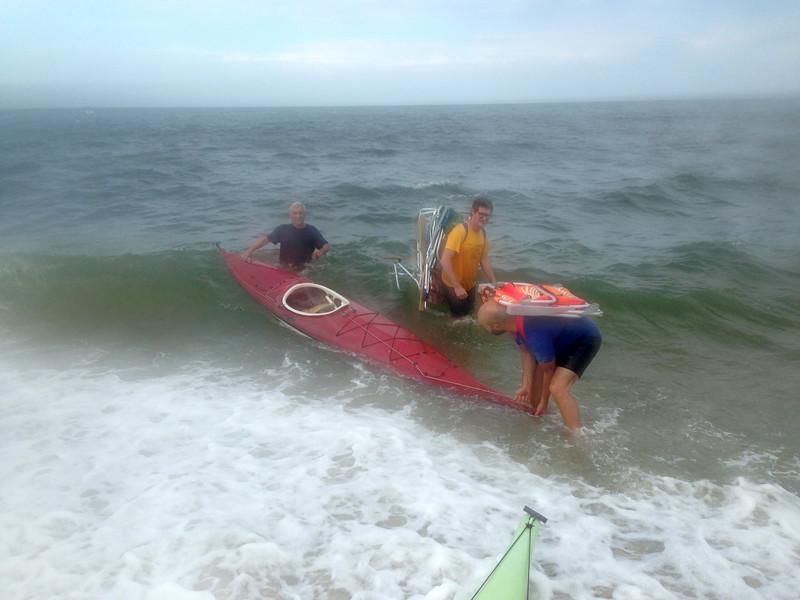Kayak Rescue Gone Awry