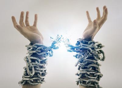 Broken chains