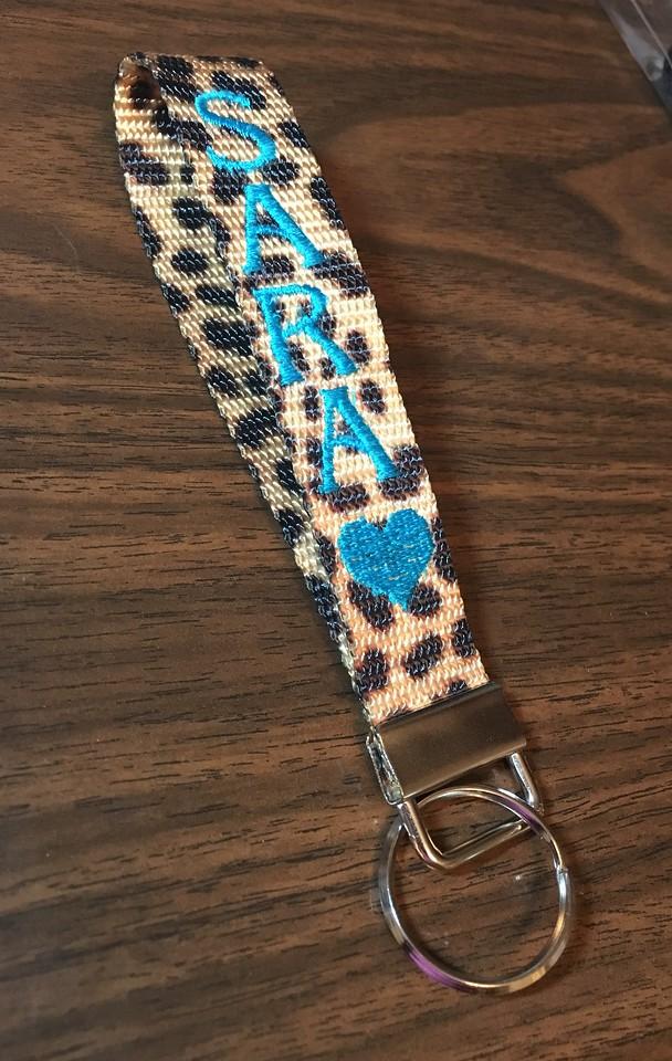 $10 Key Wristlet