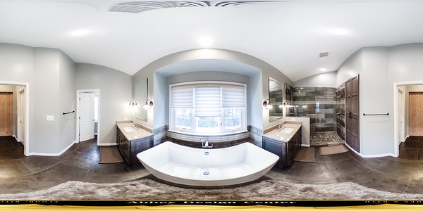 White Bathroom in 360°